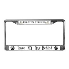 WHEATEN TERRIER Auto License Plate Frame