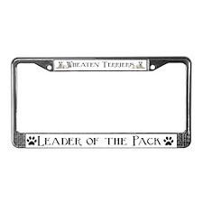 WHEATEN TERRIER Auto License Plate Frame