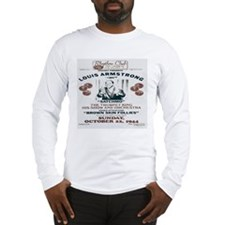 Louis Armstrong Poster Long Sleeve T-Shirt