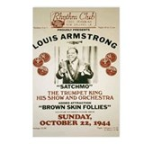 Louis Armstrong Poster Postcards (Package of 8)