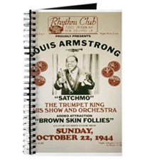Louis Armstrong Poster Journal