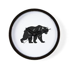 Blackbear Wall Clock