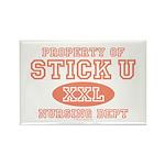 Property Of Stick U Nurse Rectangle Magnet (100 pa