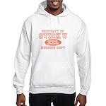 Property Of Stick U Nurse Hooded Sweatshirt