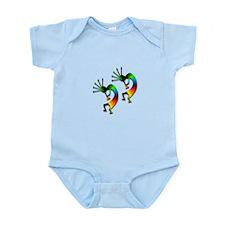 Two Kokopelli #95 Infant Bodysuit