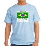 Brazil - Heart T-Shirt