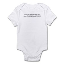 8TH DAY Maltipoos Infant Bodysuit