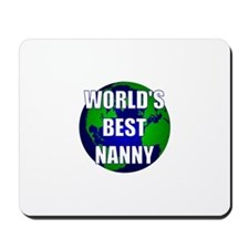 World's Best Nanny Mousepad