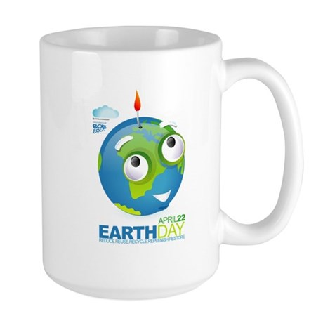 Eart Day Large Mug