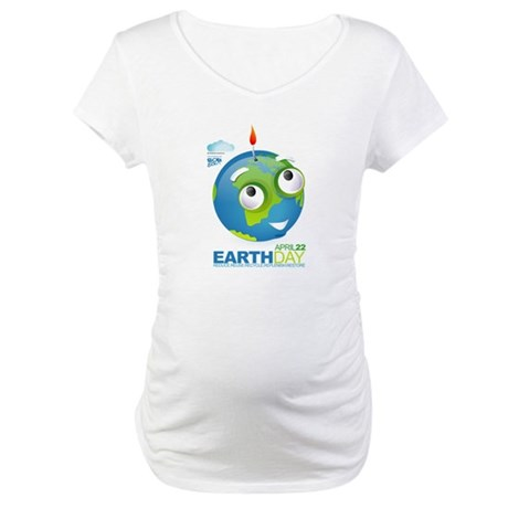Eart Day Maternity T-Shirt