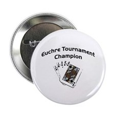 "Euchre Tournament 2.25"" Button (10 pack)"