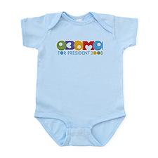 Funky I Heart Obama Infant Bodysuit