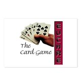 Euchre Card Game Postcards (Package of 8)