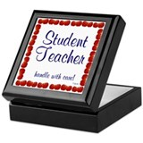 Student Teacher 1 Tile Keepsake Box