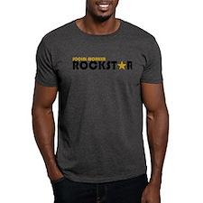 Social Worker Rockstar 2 T-Shirt