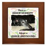 A Senior Moment Framed Tile