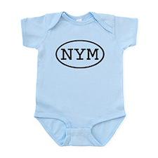 NYM Oval Infant Bodysuit