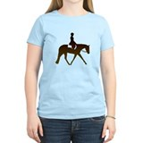 Hunter horse in brown T-Shirt