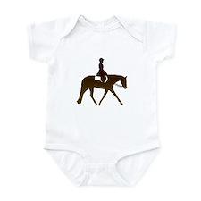 Hunter horse in brown Onesie