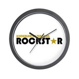 Kindergarten Teaching Rockstar 2 Wall Clock