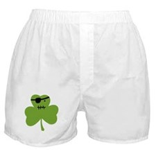 Pirate Shamrock Boxer Shorts