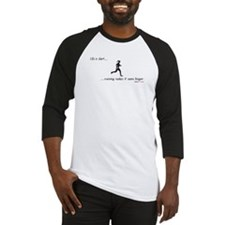 Life is Short Running Baseball Jersey