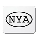 NYA Oval Mousepad