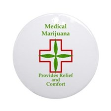 Provides Relief and Comfort Ornament (Round)