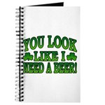 You Look Like I Need a Beer Journal