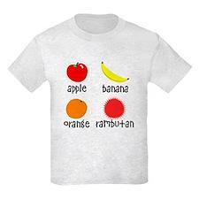 Fruit for Smart Babies Kids Light T-Shirt