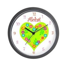 Aloha! Summer Tropical- Wall Clock
