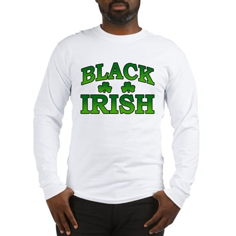 Black Irish Long Sleeve T-Shirt