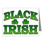 Once You go Irish You Never Go Back Note Cards (Pk