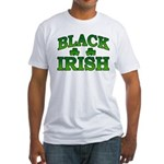 Once You go Irish You Never Go Back Fitted T-Shirt
