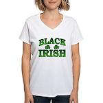 Once You go Irish You Never Go Back Women's V-Neck