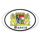 Bayern Oval Decal