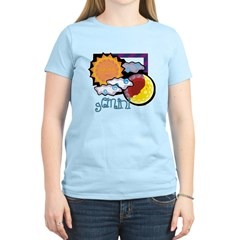 Gemini sun moon Women's Light T-Shirt