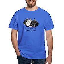 Scottish Terrier Trio T-Shirt