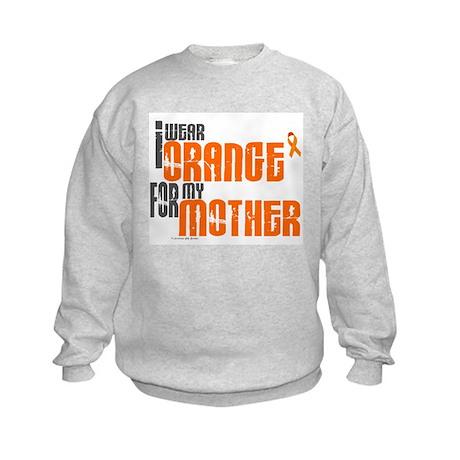 I Wear Orange For My Mother 6 Kids Sweatshirt