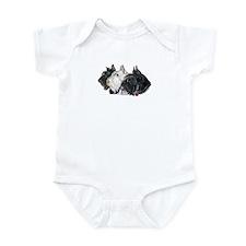 Scottish Terrier Trio Infant Bodysuit