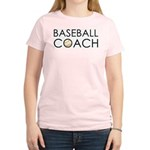 Baseball Coach Women's Light T-Shirt
