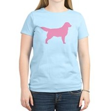 Pink Golden Retriever T-Shirt