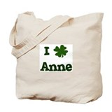 I Shamrock Anne Tote Bag