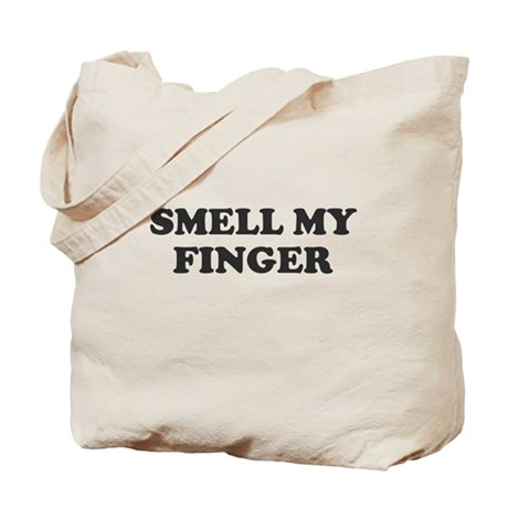Smell My Finger Tote Bag