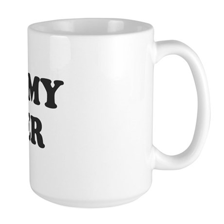 Smell My Finger Large Mug