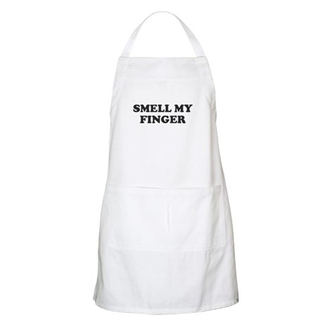 Smell My Finger BBQ Apron
