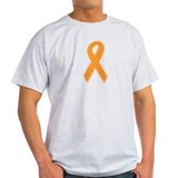 Orange Awareness Ribbon T-Shirt