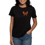Butterfly Tattoo Women's Dark T-Shirt