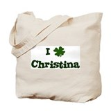 I Shamrock Christina Tote Bag