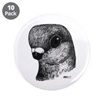 "Stettiner Shortface Pigeon 3.5"" Button (10 pa"